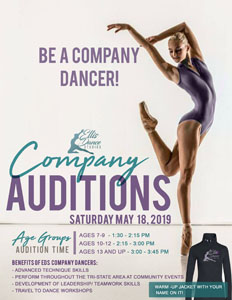 2019 EDS Company Auditions